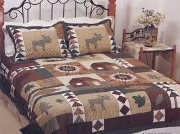 Amazon.com: MOOSE Bear QUILT comforter KING size bedding sz ... & MOOSE Bear QUILT comforter KING size bedding sz bedroom decor Adamdwight.com