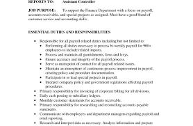 Payroll Accounting Job Description Entry Level Aviation Maintenance Jobs