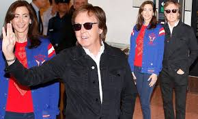 Paul McCartney, 74, greets revellers in Tokyo | Daily Mail Online