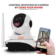 ThinkValue T8855 <b>Wireless</b> HD <b>IP WiFi CCTV</b> Indoor: 1.5 mah ...