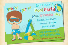 printable invitations for kids printable pool party invitations for kids hatch urbanskrip on pool