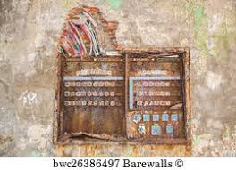 658 old electric control panel posters and art prints barewalls Old Military Fuse Box old electric control panel art print poster old rusty fuse box Old-Style Fuse Boxes