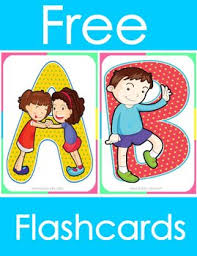 Alphabet Letters Flashcards Preschool Pre K Or Kindergarten Friendship Theme