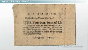 sons of liberty resistance to the stamp act and british rule stamp act repeal petition