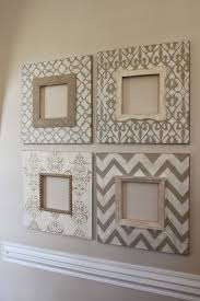 set of 4 8 8 distressed wood picture frames in vintage neutrals