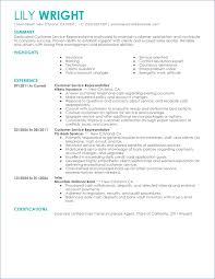 Customer Service Job Resume Objective Finance Resume Objective