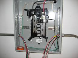 how to add sub panel breaker box facbooik com Sub Panel Breaker Box Wiring Diagram electrical 240v, 40a stove outlet was split into two 120v, 20a Basic Electrical Wiring Breaker Box