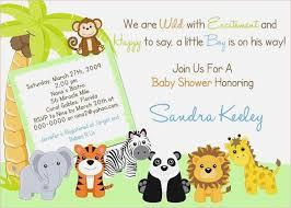 Safari Ba Shower Invitations Free Template New Invitations Baby