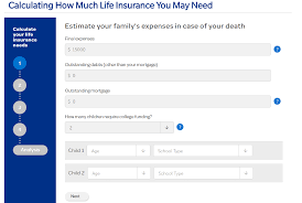 life insurance quotes calculator