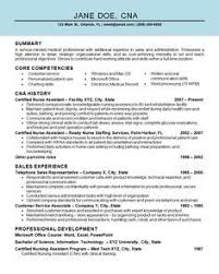 Cna Resume Samples Luxury Free Sample Certified Nursing Assistant