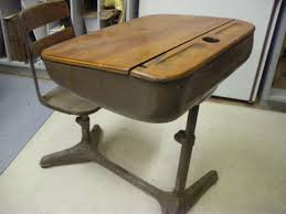 old fashioned school desk with attached chair best home within measurements 1024 x 768