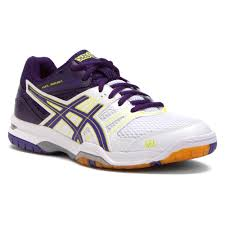 asics gel rocket 7 women s volleyball shoes 6096316 white lavender purple asics