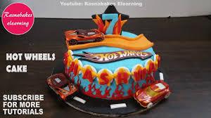 Cars 3 Cake Design Hot Wheels Cars Track Birthday Cake Design Ideas Decorating Tutorials Classes Video