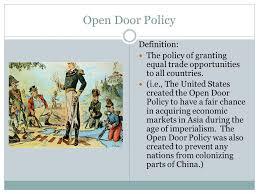 open door policy imperialism. Door Best Of Open Policy Apush Wallpaper Open Door Policy Imperialism