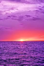 Purple Ocean Beautiful Pictures Beautiful Sky Photography