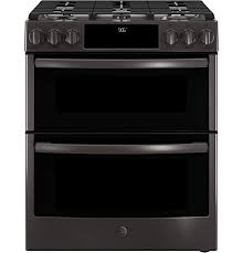 black stainless gas cooktop. Brilliant Black GE Profile PGS960BELTS 30 Inch Slidein Gas Range With Sealed Burner Cooktop  In Black And Stainless