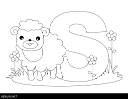 Coloring Pages Animal Alphabet Refrence E Coloring Pages Preschool