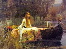 one of the few paintings of the boat segment of elaine s story which shows her alive waterhouse s sister mary was the model