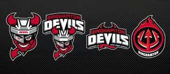 binghamton devils unveil logo jersey