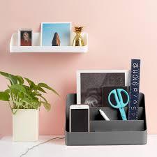 Dark Grey Poppin All-in-One Desktop Organizer