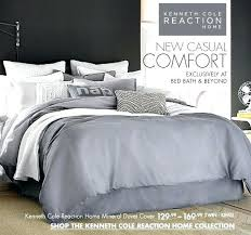 reaction kenneth cole comforter new york dovetail home mineral duvet cover bedding prev next king in