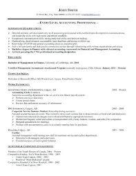 Accountant Resume Samples Staff Accountant Resume Sample Accounting