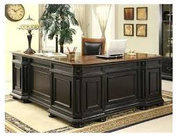 l shaped home office. allegro l shaped executive desk and return modern home office monarch reclaimed look