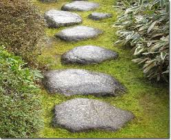 Japanese stone path