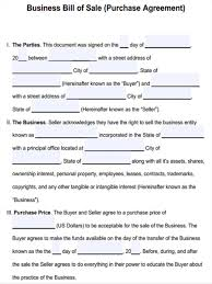 Bill Of Sale For Business 10 Rare Camper Bill Of Sale Form Zhiqwf Template For Business