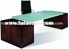 tempered glass office desk. Glass Office Desk (tempered Glass) Tempered O