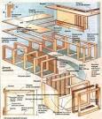 Кухня из дерева чертежи и схемы