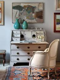 antique inspired furniture. work space with vintage inspired furniture antique i