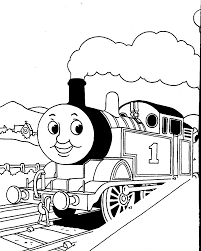 Thomas The Tank Engine Coloring Sheets Pictures To Be Sewn On