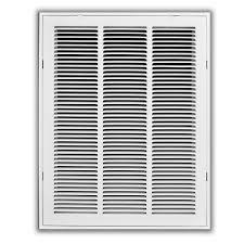 Ac Filters Orlando Truaire 18 In X 24 In White Return Air Filter Grille H190 18x24