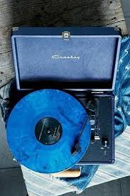 Pin by Ivy Klein on Photo wall in 2020 | Light blue aesthetic, Blue  aesthetic pastel, Vinyl record player