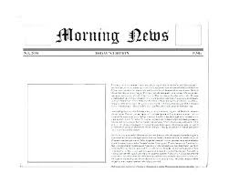 Newspaper Article Template Students Free Newspaper Templates Print And Digital Online Template