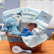 gift basket drop shipping simply the baby basics new baby gift basket blue walmart