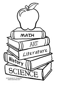 Book Coloring Imagel