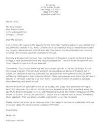 Teacher Cover Letter Format Download By Cover Letter Format For