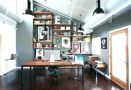 modern rustic office. Rustic Office Design Modern Space Nonsensical Fresh O