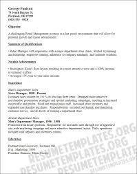 Assistant Store Manager Resume Lovely Resume Examples For Retail