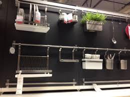 kitchen wall organizing from IKEA