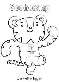 Kleurplaten Voor Kinderen Olympische Spelen Zomersport