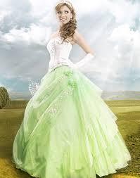 shangri la apple green wedding dresses