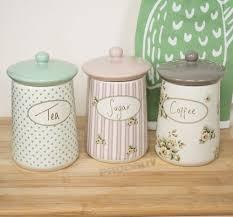 Retro Kitchen Storage Jars Ceramic Storage Jars Ebay