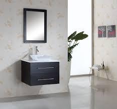 virtu usa marsala (single) inch modern wall mount bathroom