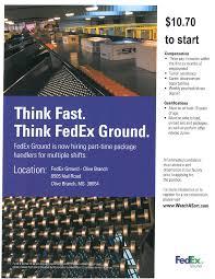 Fedex Sort Observation Fedex Ground Package Handlers Memphis Olive Branch Job