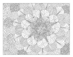Intricate Coloring Pages Free Printable Abstract Coloring Pages For