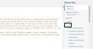 edit javascript code in wordpress