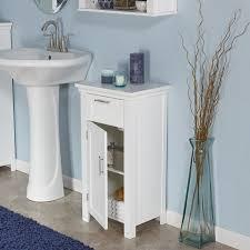 Amazon RiverRidge Home Somerset 1 Door Floor Cabinet White